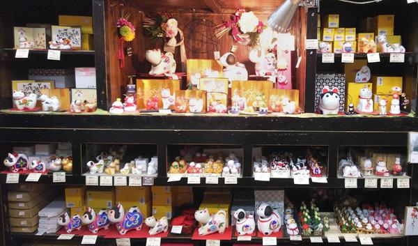 花びし本店-和雑貨コーナーの戌小物