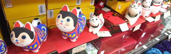 花びし本店-2018年お正月人気の首振り1